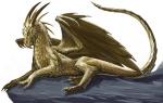 Gold_Dragon_by_BenWootten